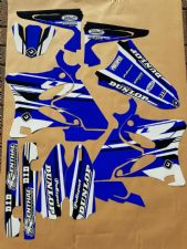 New YZ 125 250 06-14 PTS4 Graphics Sticker Decals Kit 07 08 09 10 11 12 13